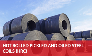 Hot Rolled Pickled And Oiled Steel Coils (HRC)