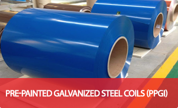 Pre-Painted Galvanized Steel Coils (PPGI)