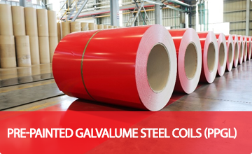 Pre-painted Galvalume Steel Coils (PPGL)