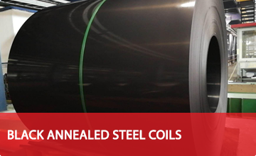 Black Annealed Steel Coils