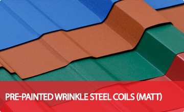 Pre-Painted Wrinkle Steel Coils (MATT)